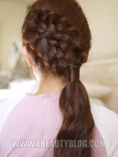 Double Braided Side-do for Medium to Long Hair