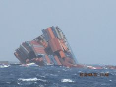 MOL Comfort stern section sinking