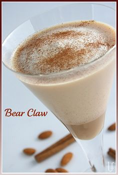 Bear Claw - lots of low-carb, high protein shake recipes