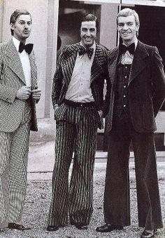 1920's men fashion