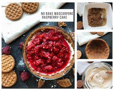 No bake mascarpone raspberry cake. . . . #kuttrecipe  #goodeats #foodphotography #homecooking #foodstyling #dessert #nobakecake #simpledessert #mascarponecake #dessertideas #foodstories  #foodphotography Digestive Biscuits, Raspberry Cake, Deserts, Healthy Recipes, Homemade, Baking, Dinner, Food, Mascarpone