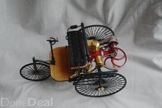 """Very Rare early Benz Model car. Model dimensions: H X W X L 12 ½ """" Brand New never displayed. Only removed from Packaging for Pictures."""