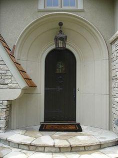 Harrington Road Residence traditional exterior & door www.KrisLindahl.com