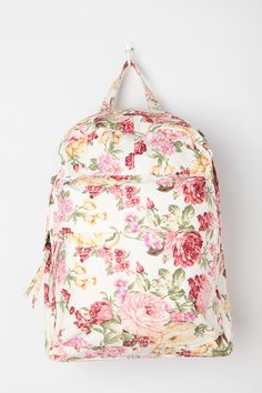 BDG Floral Collage Backpack  #UrbanOutfitters