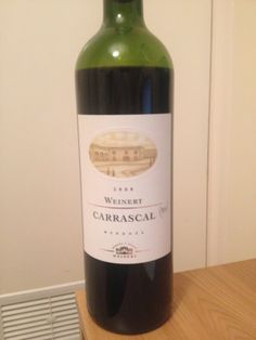 Weinert Carrascal 2008: All of the Blend with None of the Bland