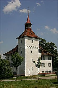 Bailiff's Castle (German: Landvogteischloss) is a castle in the municipality of Willisau of the Canton of Lucerne in Switzerland
