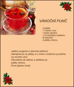 recept Cocktail Drinks, Cold Drinks, Beverages, Christmas Baking, Christmas Cookies, Pies Art, Baking Recipes, Smoothies, Food And Drink