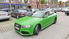 Happy St Patricks Day! Green @Audi RS5 :)