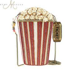 Mary Frances Handbag Butter Me Up Beaded Jeweled Popcorn Hollywood Movies Handbag Shoulder bag Unique Handbags, Unique Purses, Unique Bags, Purses And Handbags, Mary Frances Purses, Mary Frances Handbags, Mary E Francis, Novelty Handbags, Novelty Bags
