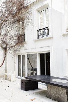 Aesthete Label love - Rick Owens' courtyard