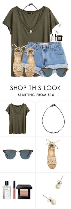 """""""Happy Earth Day!!"""" by flroasburn on Polyvore featuring H&M, Levi's, Ray-Ban, Paloma Barceló, Bobbi Brown Cosmetics and J.Crew"""