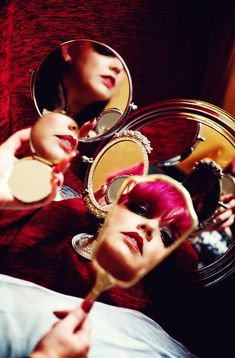 Love the mirror concept ... it was part of a 7 deadly sins shoot ... this is pride