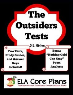Essay About Good Health In This Bundle You Will Find Two Tests For The Novel The Outsiders By Se Examples Of A Thesis Statement For A Narrative Essay also Narrative Essay Topics For High School Students The Outsiders Essay Prompts  Grading Rubrics  Teaching Outsiders  Yellow Wallpaper Analysis Essay