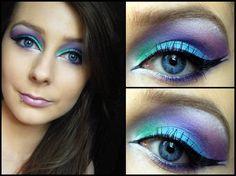 Gorgeous Mermaid Makeup!