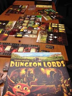 Dungeon Lords-a little complex, but once picked up VERY very fun!