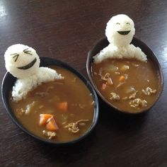 Funny pictures about Edible men in curry soup. Oh, and cool pics about Edible men in curry soup. Also, Edible men in curry soup. Cute Food, Good Food, Yummy Food, Awesome Food, Healthy Food, Amazing Food Art, Healthy Rice, Happy Healthy, Healthy Weight