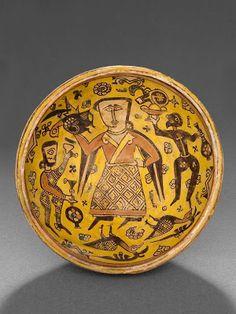 Nishapur Bowl-Iran 10th century