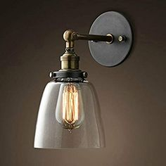 Kind-Hearted Vintage Loft 1-light Plug-in Or Hardwire Industrial Cage Wall Sconce Retro Wall Lamp For Bedroom Aisle Bar Matte Black Finish