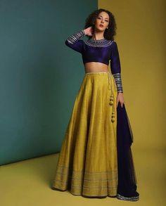 Ravishing Mustard Colored Party Wear Banglori Satin Lehenga Choli with Dupatta S Rajasthani Dress, Saree Jewellery, Indian Bridal Lehenga, Wedding Lehnga, Wedding Dresses, Desi Bride, Indian Wedding Outfits, Bridal Outfits, Western Dresses