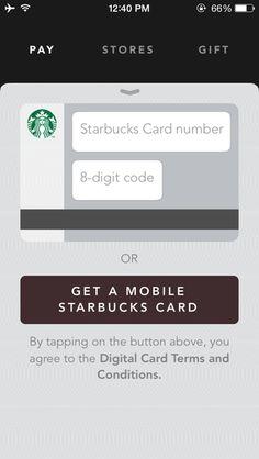 Starbucks #app #iphone