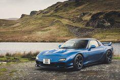 https://flic.kr/p/CHa2iv | Mazda RX7 - North Wales | Wide-arch Mazda RX7 in Snowdonia, North Wales. instagram.com/mark_scenemedia