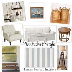 Calling it Home: Nantucket Style....The Cottage Mix - Lauren Leonard Design ...