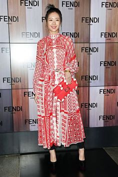 cool Claudia Kim attends the Fendi show during Milan Fashion Week Fall/Winter 2017/18 on February 23 2017... Celebrity Style Check more at http://pinfashion.top/pin/68313/