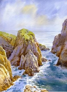 Faustino Martin Gonzalez WATERCOLOR