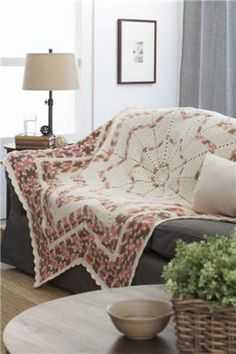 crochet afghan patterns Loops and Threads® Impeccable™ Big Radiant Stripes Blanket, large - Crochet Afgans, Crochet Quilt, Crochet Home, Crochet Crafts, Crochet Projects, Crochet Blankets, Yarn Crafts, Afghan Crochet Patterns, Crochet Stitches