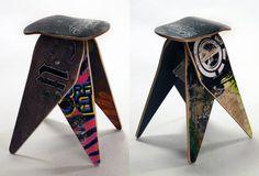 Skateboard Seating Design by deckstools