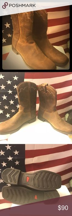 Men's Justin boots brand new never worn Brand new Justin boots never worn size 10.5 just to big for me Justin Boots Shoes Cowboy & Western Boots