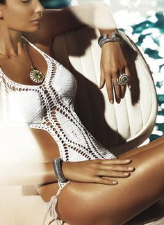 crochet, love this suit #summer