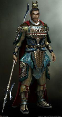 Chinese warrior tattoo inspiration. ..