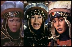 3 different women played rita repulsa and a lot of people did'nt notice Age Of Mythology, Rita Repulsa, Believe, Go Go Power Rangers, Evil Queens, Mighty Morphin Power Rangers, Old School, Captain Hat, Tv Shows
