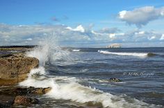 Another gorgeous photograph taken from Tyninghame beach.  www.facebook.com/thestoreatbelhaven