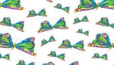 Butterflies Very Hungry Caterpillar - Cotton