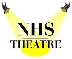 """NHS Theater Logo"" by fab-killjoy on Polyvore featuring art"