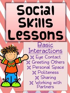 Quick and Easy Social Skills Lessons for therapy, the classroom ...