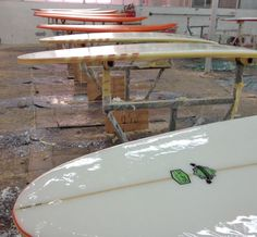 glassed surfboards