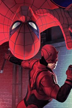 Spiderman And Daredevil Artwork, HD Superheroes Wallpapers Photos and Pictures ID Comic Book Characters, Marvel Characters, Comic Character, Comic Books Art, Comic Art, Marvel Art, Marvel Dc Comics, Marvel Heroes, Thor Marvel