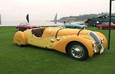 1938 Peugeot 402 Pourtout Darl'Mat Roadster - 25 Stunning Art Deco Cars | Complex UK
