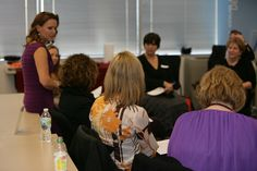 Successful Women Made Here event with IndyCar driver and owner Sarah Fisher - mastermind circle.