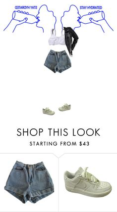 """Dreams"" by eyeliieds ❤ liked on Polyvore featuring American Apparel and NIKE"