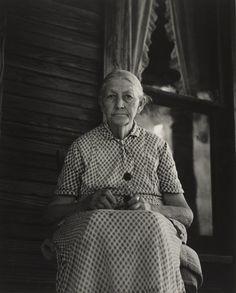 Dorothea Lange. Ma Burnham, Conroy, Arkansas. 1938