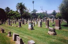 One of the many communities in Colma, the place where San Francisco goes to die