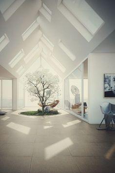 The #tree in the hall    ___________________________________________  #Landscape #InteriorDesign #Bohemian #Decoration #Architecture #Art#Design#Swag#FollowMe#Style
