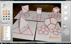338645_352057184871105_622760024_o Más 3d Shapes, Geometric Shapes, Paper Art, Paper Crafts, Projection Mapping, Geometric Decor, Technical Drawing, Sacred Geometry, Math Activities