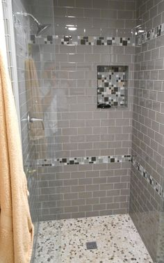 Shower Without Door depiction of modern and classic walk in shower without doors