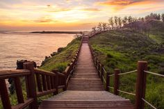 olle tour trail #10 at sunset, Jeju Island | Flickr - Photo Sharing!