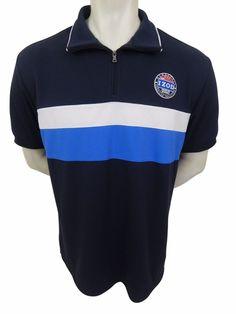 Malibu Cup Nationals IZOD Performance Polo Shirt Size L 1/4 Zip Wicked New #IZOD #PoloRugby